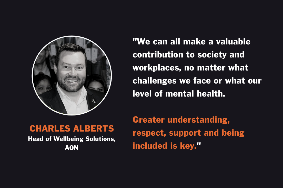 Charles - World Mental Health Day Quote