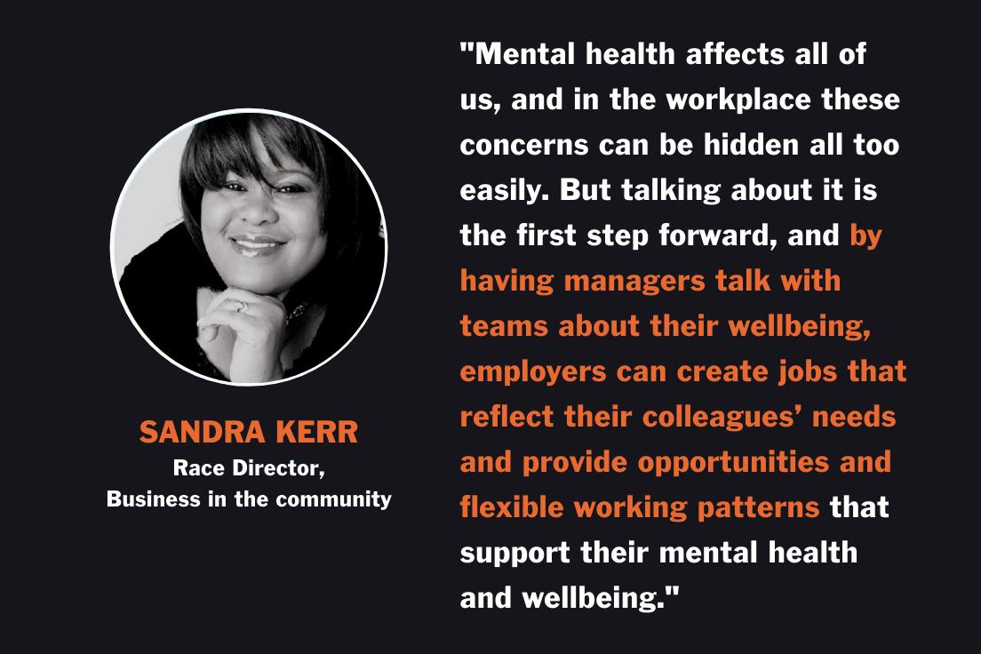 Sandra - World Mental Health Day Quote